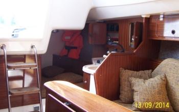 Jacht ANTILA 24 MILA , czartery na Mazurach
