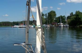 Jacht JANMOR 28 - FADO, czartery na Mazurach