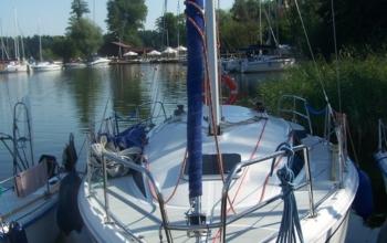 Jacht Solina 27, czartery na Mazurach