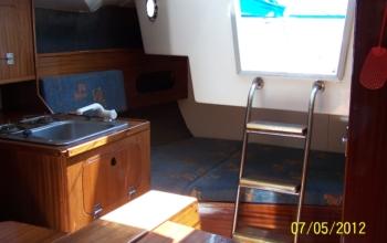 Jacht Tango 780 TORNADO - czarter jachtów Mazury