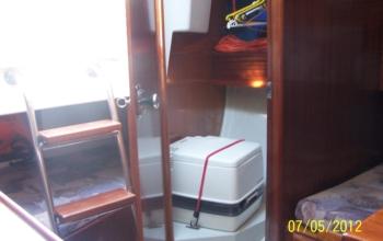 Jacht TANGO 780 ORKAN - wynajem jachtów na Mazurach - firma BOSMAN